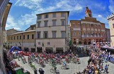 Giro d'Italia 2014 - Stage 8 - At the start of stage 8 of the Giro d'Italia