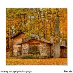 Want to experience the goodness of living in a country-style house and away from the city, and if you love hands-on, log cabin kits is the solution. Cozy Cottage, Cottage Homes, Cozy Cabin, Cabin In The Woods, Little Cabin, Log Cabin Homes, Log Cabins, Rustic Cabins, Cabins And Cottages