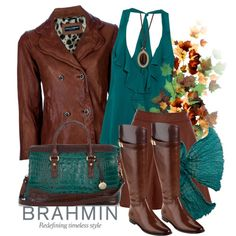 """How Do You Wear Your Brahmin?"" by reneelyn on Polyvore"
