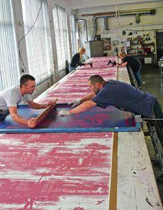 silk screen printing process - Google Search