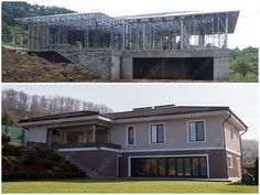Portfolio of The Lightweight Steel Structures Factory - UnicRotarex®. Steel houses and industrial buildings done by our technology in the entire world. Ce Marking, Future Buildings, Steel House, Steel Structure, Steel Frame, Construction, Houses, Italy, Technology