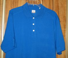 NWT Men's Callaway C-Tech Blue Golf Polo Short Sleeve Shirt Boeing Size XL