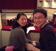 """#parlailpubblico #TeatriDICivitanova """"Non siamo mai stati in un teatro italiano.Abbiamo voluto""""provare"""".Siamo contenti perchè abbiamo visto un po'della cultura di questo Paese"""".(Yaquin e Xinzhi,di origini cinesi,vivono a Civitanova Marche)6marzo 2014"""