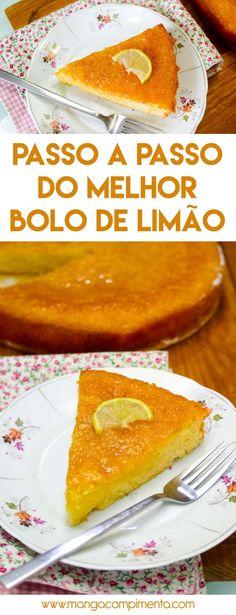 Passo a Passo para fazer o Melhor Bolo de Limão para o chá da tarde! #receita #doces #bolodelimão