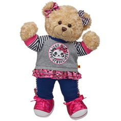 Head to Paw Style Happy Hugs Teddy - Build-A-Bear Workshop US