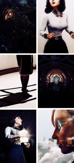 Bioshock Infinite → Black + White.