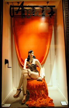 Lanvin Window Display for August / MesVitrinesNYC