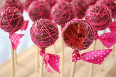 how to display cake pops - Google Search