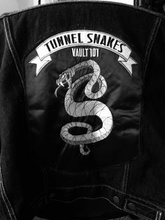 Denim Tunnel Snakes jacket by @parm-esancheese  fallout cosplay fallout tunnel snakes denim cosplayers cosplay