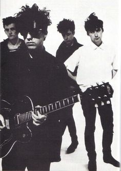 The Jesus & Mary Chain. One of the most influential bands of their generation. Psychocandy still remains in just about every credible 'best albums of the 80's' list.