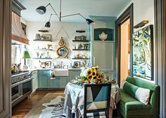 kelli boyd photography - Lisa Mende Southern Style Now 2017 showhouse best kitchen cabinet painted finish