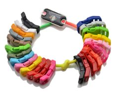 1/2' plastic buckles for bracelets