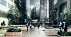 Concurso de Anteproyecto Arquitectónico para el Diseño de las Zonas Comunes del Centro Empresarial Santa Barbara P.H