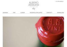 Web Site Albino Armani