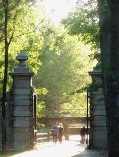 Ingang Flevopark door Mirthe Duindam