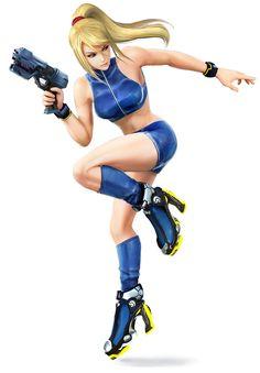 Zero Suit Samus Color Swap - Characters & Art - Super Smash Bros. for 3DS and Wii U