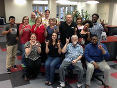 #WOLVESUP with some of our awesome library staff
