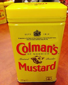 Love the iconic look of Colman's Mustard! The flavor dimension of the savory & spicy takes eating mustard to a whole new level! #momblogtourff