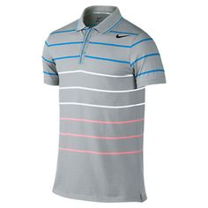 2becf4ad44a0 Men`s DF Cotton Stripe Jersey Tennis Polo Tennis Gear