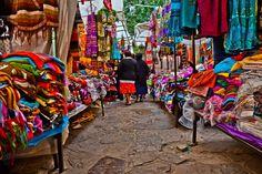 Market colored in San Cristobal de las Casas, Chiapas, Mexico | Flickr - Photo Sharing!