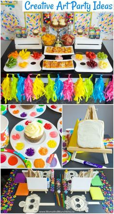 Art Birthday Party Ideas