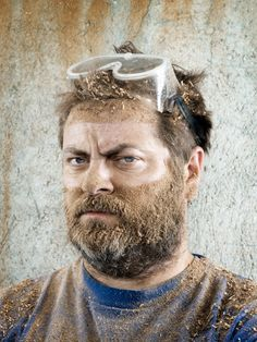 Nick Offerman by Emily Shur