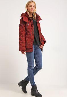 khujo ULRIKA - Winter jacket - red - Zalando.co.uk