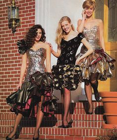 prom October Alyce Designs - Just Seventeen Grunge Look, 90s Grunge, Grunge Style, Grunge Outfits, Soft Grunge, Vintage Prom, Vintage Mode, Vintage Dresses, 90s Prom Dresses