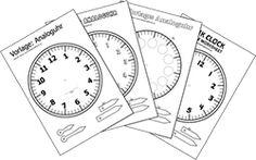 Kopiervorlage Uhr « Arbeitsblätter « .: Volksschullehrerin.at :.