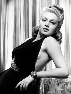 Lana Turner's 40's perfection!