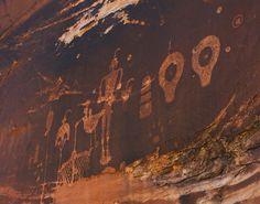 Petroglyphs in Butler Wash. Photo Amanda Kirkpatrick.