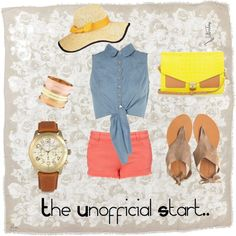 The Unofficial Start of Summer School's Out For Summer, Shoe Bag, My Style, Polyvore, Outfits, Beauty, Collection, Shopping, Dresses