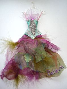 OOAK+3D+Fairy+Art+Doll+Ensemble+Display++Believe+by+anndesigns59,+$20.00