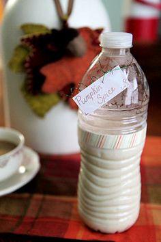 Homemade Pumpkin Spice Coffee Creamer recipe from stronglikemycoffee.com