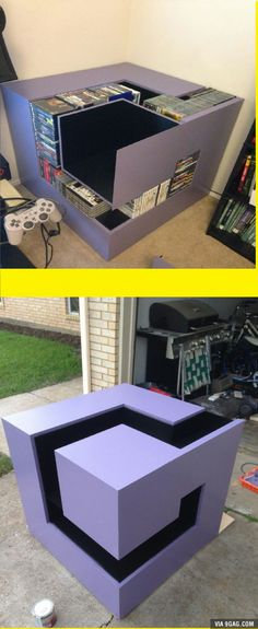 Built a gamecube shelf with my best friend. what do you guys say?