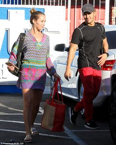 Family feud: Husband and wife, Alexa and Carlos PenaVega are competing against each other ...