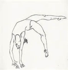 Gymnastics Drawings of People - Bing images