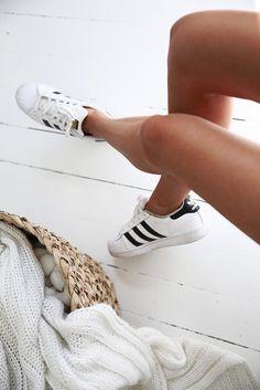 She'll toe Adidas!!! Old school baby:)