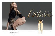 Reklama perfum Balmain Extatic