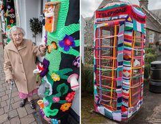 Bisavó De 104 Anos Decora Cidade Com Seu Crochê