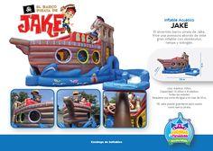 Inflable Acuático El Barco Pirata de Jake Niños y Adultos Costa Rica  http://www.juegosypiruetas.com/#!inflables-acuticos/cahp