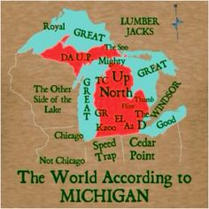 Pure Michigan,i find this to be funny,although i see ohio as being watch your speed.they will nail you for doing 5 over,especially if you're from michigan. Michigan Travel, State Of Michigan, Detroit Michigan, Northern Michigan, Michigan Quotes, Michigan Accent, Muskegon Michigan, Michigan Vacations, Lake Michigan