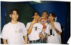 'sik-k and friends' Poster by yelowsmobmerch Yg Rapper, Kpop Rappers, Christian Yu, Handsome Asian Men, Friends Poster, Photoshoot Concept, Korean Boys Ulzzang, K Wallpaper, Skater Boys