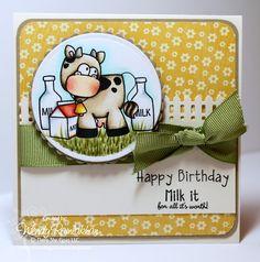 Wendy Ramlakhan of SugarPea Designs: Milk It Birthday - TSG Stamps