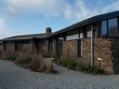 Our cottage at dusk. #cornwall Cornwall