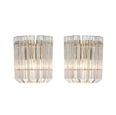 Vintage Murano Glass Wall Sconces - http://www.1stdibs.com/furniture/lighting/sconces-wall-lights/vintage-murano-glass-wall-sconces/id-f_1191116/