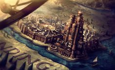 King's Landing concept art - game-of-thrones Photo King's Landing Map, Kings Landing, Ipad Air Wallpaper, Images Wallpaper, Wallpaper Backgrounds, Laptop Backgrounds, Macbook Wallpaper, Concept Art Game, Art Game Of Thrones