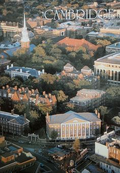 Harvard Square and Harvard Yard. yes it is in Cambridge but an integral part of Boston's History