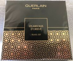 Guerlain Les Absolus D'Orient Travel Set 4 X 15ml NIB Seal #Guerlain Lip Contouring, Travel Set, Seal, Fragrance, Perfume, Pure Products, Vintage, Lip Lining, Harbor Seal