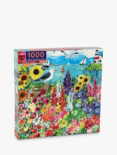 Buy eeBoo Seagull Garden Jigsaw Puzzle, 1000 Pieces from our View All Games & Puzzles range at John Lewis & Partners. Seaside Garden, Paper Board, Puzzle 1000, Puzzle Board, Name Day, All Games, Bank Holiday, Gift List, 1000 Piece Jigsaw Puzzles